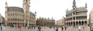 Bruxelles - Grand Place by Telestic