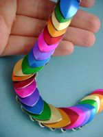 Rainbow Scalemaille by monsterkookies