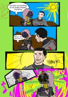 ME3: *MILD SPOILERS* Tali and Shepard on Rannnoch by QuarianGypsy