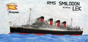 R.M.S. Smildom Lek by Scottvisnjic
