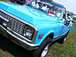 Shiny Blue Chevy 2 by JeremyC-Photography