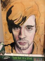 Self portrait unfinished 2 by andytaylor756