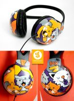 Foxy Headphones by Bobsmade