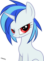 Vinyl Scratch by Cryshl