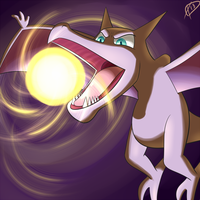 Day 8-Aerodactyl by ParadigmPizza
