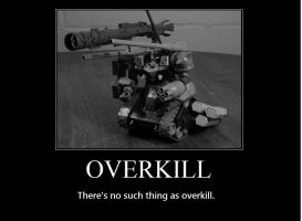 Overkill.. by xIGetUm