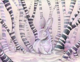 Stripejack Forest by ursulav