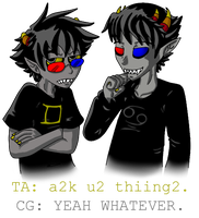 Ask SolluxandKarkat on Tumblr by Hidden-in-the-Mist