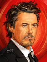 Robert Downey Jr. by Andrimia