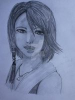 Relistic Manga FFX Yuna Speed Drawing by Littleaerith2140