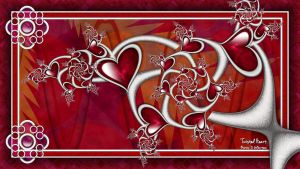 Pong 024 ~ Twisted Heart by miincdesign