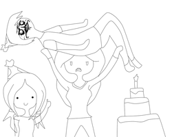 BELATED B-DAY WIP by The-Bish-Of-Hyrule