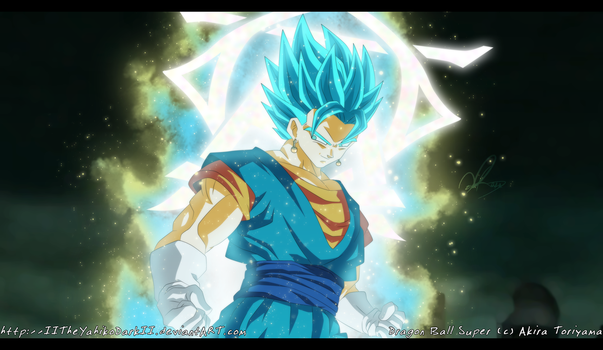 Dragon Ball Super Vegetto SSJ Blue by IITheYahikoDarkII