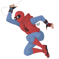 Homemade Spidey Suit by pencilHead7