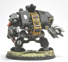 Deathwatch Imperial Fist Dreadnought by Atticus83