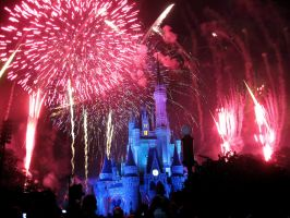 Disney Fireworks 16 by ModernMessiah-Photos