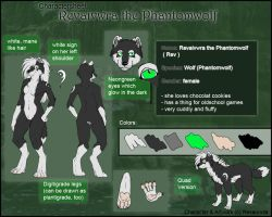 Revaivwra the Phantomwolf by Phantom--Wolf