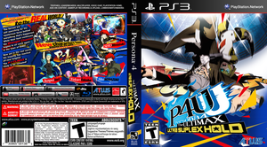 Persona 4 The Ultimax PS3 Box Art Mock-Up by DPghoastmaniac2