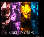 4 Bokeh Textures by ChipiChii