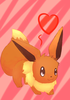 Eevee by Lin00ne