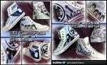 30 Seconds to Mars Chucks by Sahierah