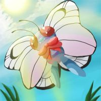 butterfree by blue1style