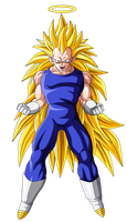 Vegeta Super Saiyan 3 by OriginalSuperSaiyan