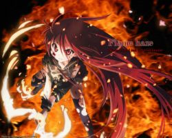 Shakugan No Shana Wallpaper by Sneak520