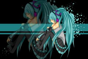 Disappearance of Hatsune Miku by LeapingLamb