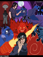 Lost Soul of The Uchiha - fanart by Droll3