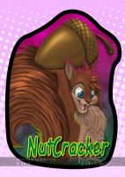 NutCracker ConBadge by bluekoinu