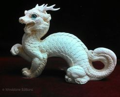 Pyo Oriental Dragon With Prototype Horns by Reptangle
