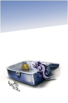 Where I left my tail by geckokid