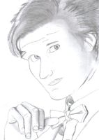 11th doctor drawing by drawingdream