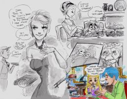 Dinner with Mother by oasiswinds