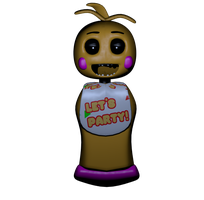 Toy Chica WIP 2 by A-Battery