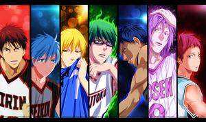 Artbook Kaii: Kuroko no Basket [Collab] by the103orjagrat