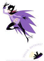 $10 commish - Batgirl by sonicelectronic
