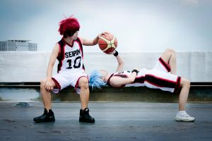 KuroBasu - Rest Up by mikiikun