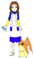 The Digidestined of Unity: Rebekah Colmare by UltimateAlexandra1