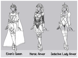 Outfit Design : Batch 1 (0/3 CLOSED) by JessyB-Design
