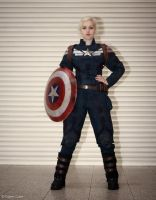 Captain America - The First Avenger by Paper-Cube