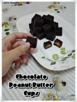 Chocolate Peanut Butter Cups by SongAhIn