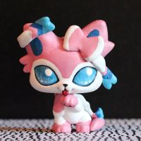 Sylveon Littlest Pet Shop custom, version 2 by pia-chu