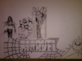 Marvel Project Update 5 WIP by DamCee