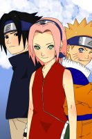 Team 7 Coloured by douwaxyomi