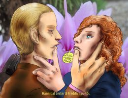Hannibal - Hannibal Lecter and Freddie Lounds by FuriarossaAndMimma