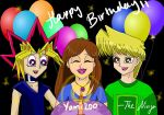 Happy Belated Birthday Yami200 by ninja-starz2