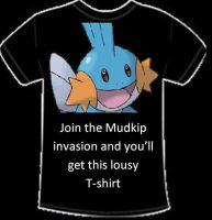 Join the Mudkip Invasion by alimination602