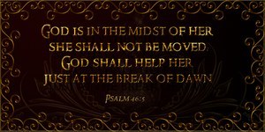 Digidex Card: Psalm 46:4 by Blissful-Creations